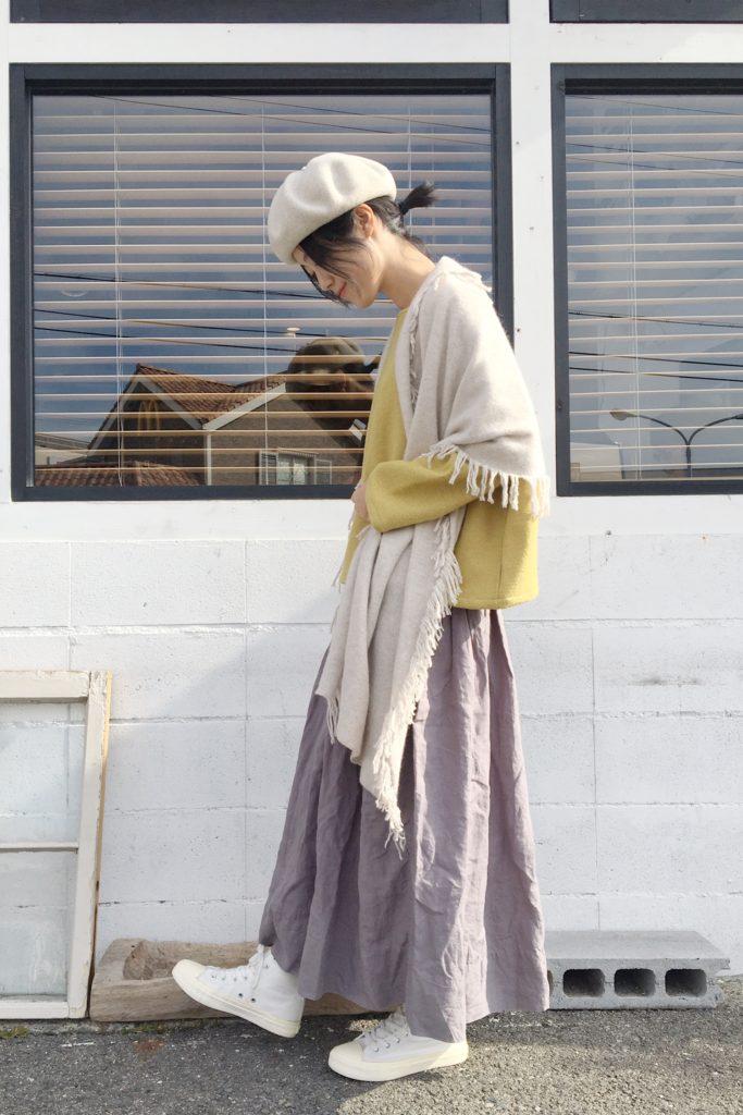 Veritecoeur の 定番人気シャーリングスカート